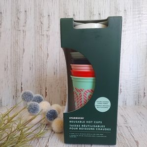 STARBUCKS |2020 Christmas Collection Reusable Cups